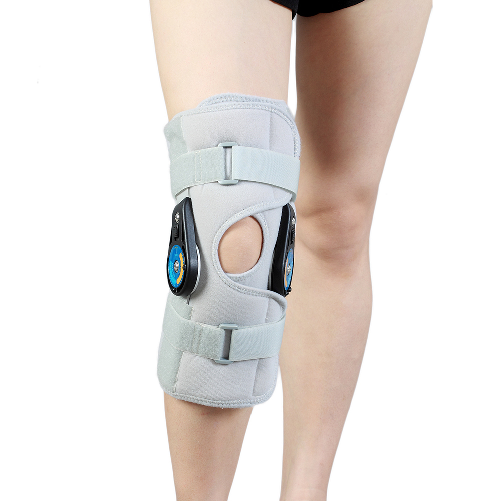 Health Care DLX + POST OP ORTHOPEDIC KNEE IMMOBILIZER ADJUSTABLE BRACE ACL Brace Support