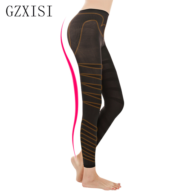 94a1cd66e Hot Shapers Control Tummy Pants Underwear Sexy Woman Slimming Pants Fat  Burning Beauty Leg Effect Tights Hip Lift Slim Leggings