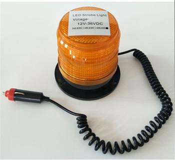 Światło stroboskopowe LED napięcie 12-36DVC 60LED data data powrotu (ostrzeżenie światła sufitowe inżynieria ruchu światło stroboskopowe budynku przeszkód światła tanie i dobre opinie 001231 Phineli
