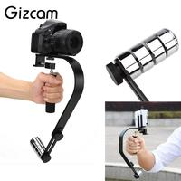 Gizcam Aluminum Alloy Handheld Stabilizer Hand Grip for Sports Action Video Cameras DV Camera Mobile Phone Accessories