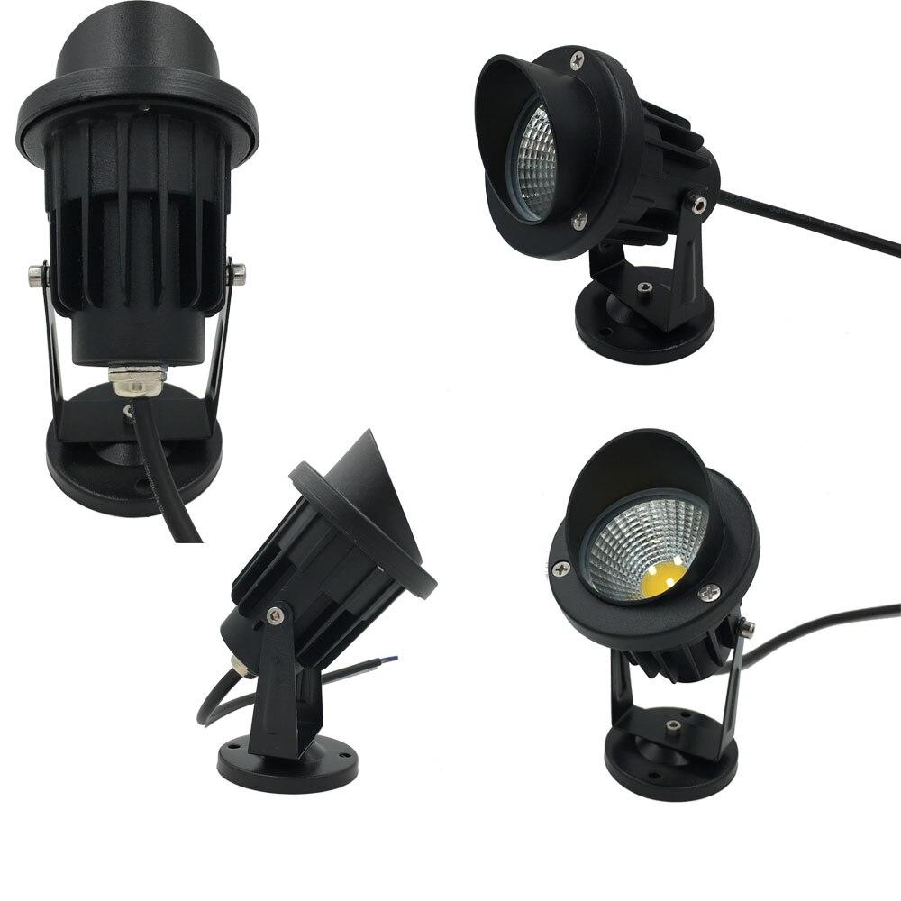 Lâmpadas do Gramado v para o jardim iluminação Led Tipo : 5w Cob