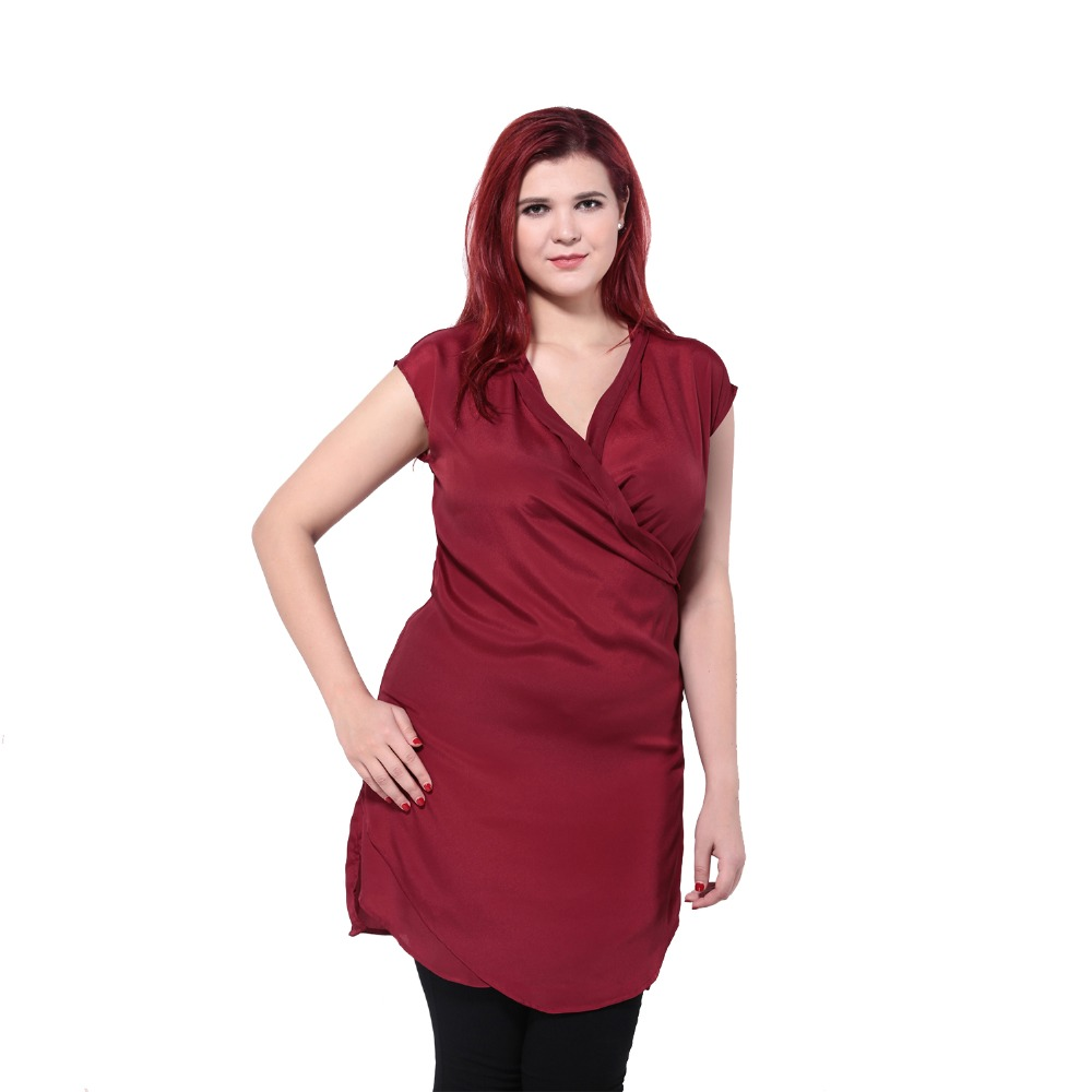 Plus Size  Basic Front Cross Loose Tops Sleeveless V-Neck Shirt Women Fashion Solid Big Size Blouse Tops 5XL 6XL 1