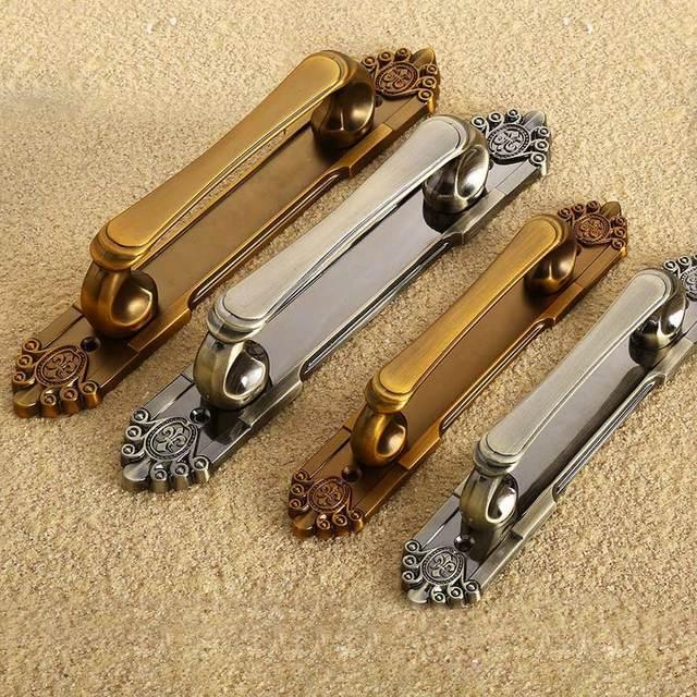 MEGAIRON New Retro Bronze Tone Handles Drawer Cabinet Desk Door