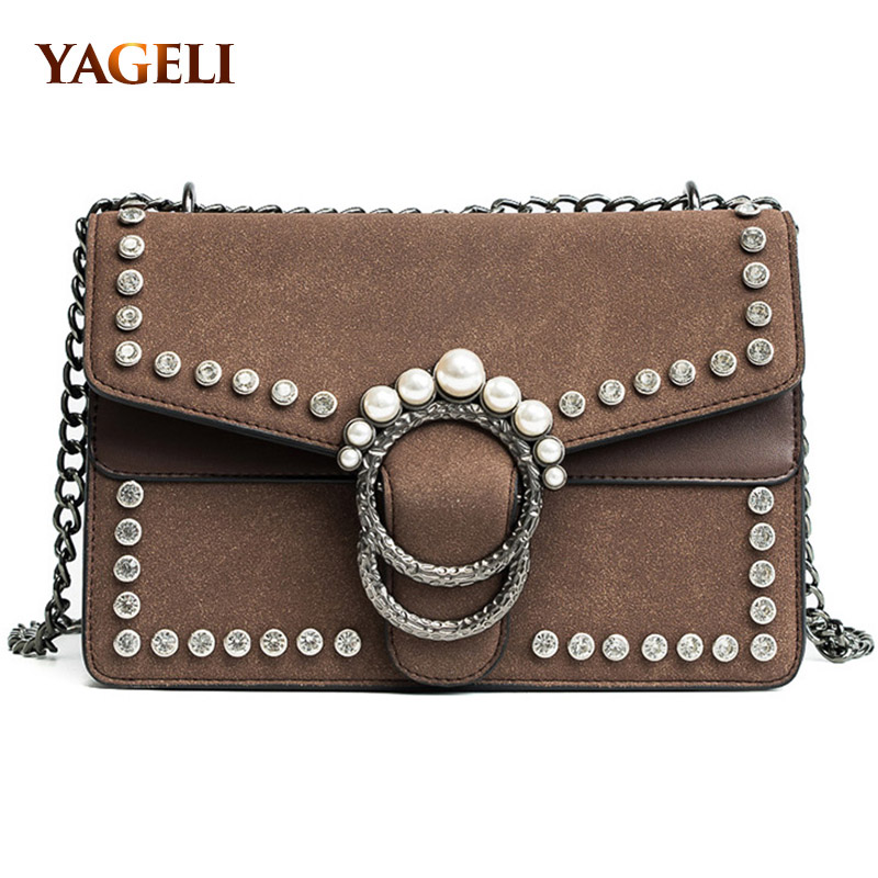 HOT luxury handbags women bags designer crossbody bags for women fashion stud shoulder bags famous brand women messenger bags nucelle fashion flap handbags brand designer crossbody bags for women blue shoulder messenger schoolbag bolsos mujer de hot sale