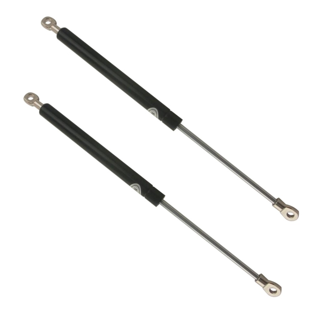 15KG/33lb Force 405mm Hole Distance 160mm Stroke Auto Gas Spring Hood Lift Support for Furniture Door Auto M8 Hole Diameter 60kg 132lb 400mm force 160mm long stroke auto gas spring hood lift support 400 160mm central distance m8 gas springs in springs