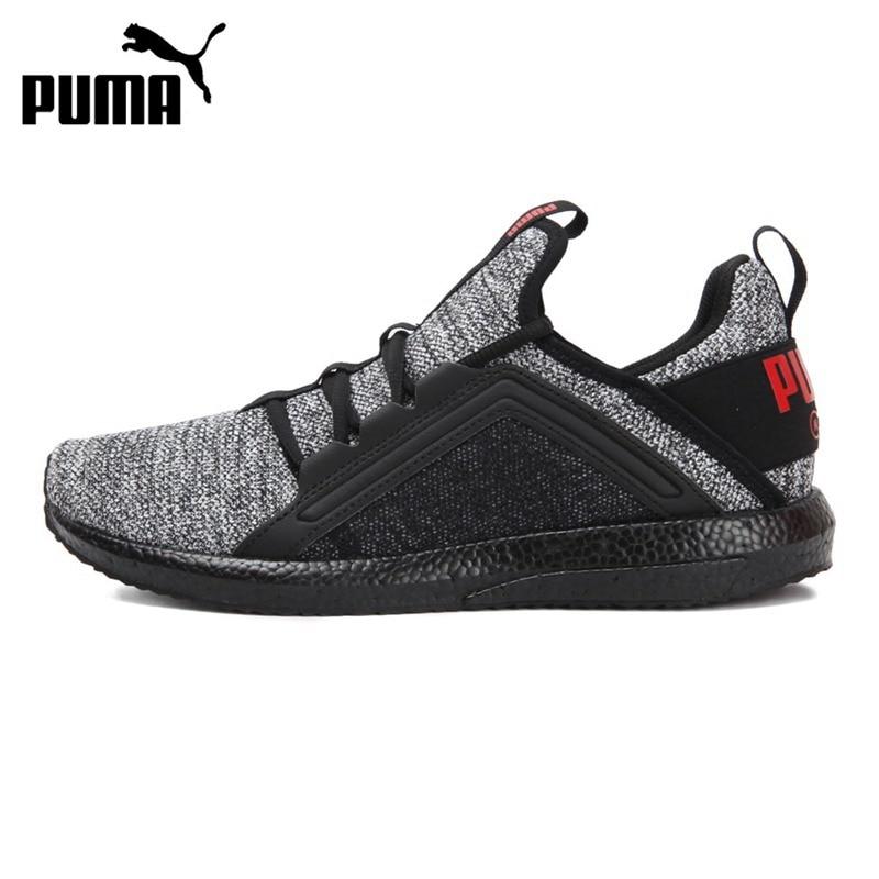 05fbd8134ee101 Original New Arrival 2018 PUMA Enzo Strap Knit Men s Running Shoes ...
