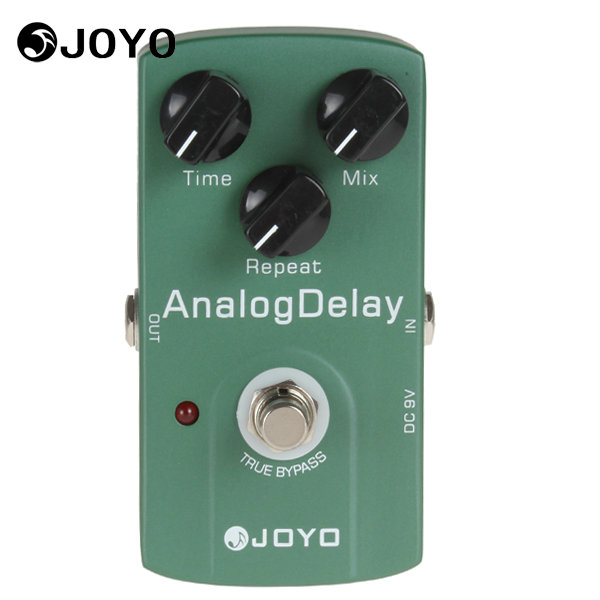 JOYO JF-33 True Bypass Analog Delay Guitar Effect Pedal Box Warm Output Tone Musical Instrument Electric Guitar Accessories joyo jf 37 analog chorus electric guitar effect pedal true bypass design adjustable tone