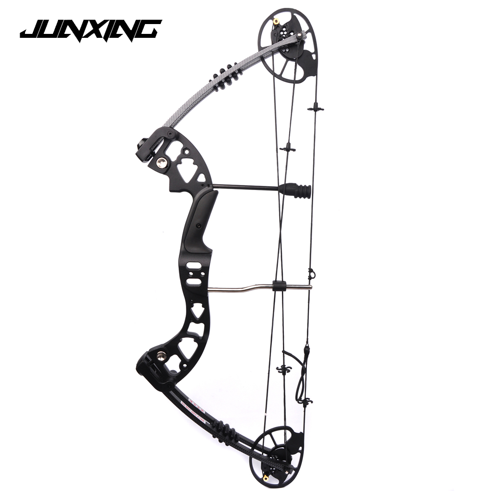 2 Color M125 Compound Bow 30-70 Lbs Aluminum Alloy with Bow Accessories Archery Equipment for Archery Hunting Shooting 35 70 lbs powerful compound bow aluminum alloy archery bow arrow for outdoor hunting shooting