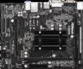 Verwendet  ASRock Q1900M integrierte J1900 quad core CPU niedrigen power DDR3-in Motherboards aus Computer und Büro bei