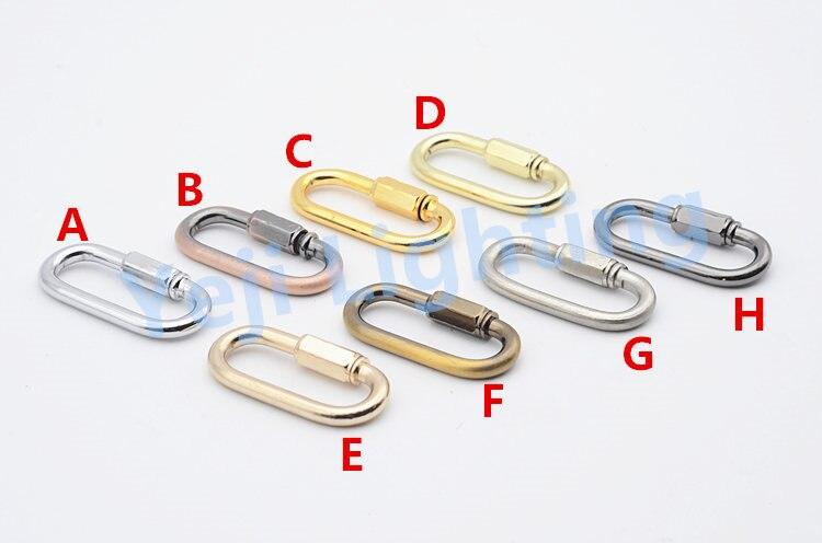Адаптер для часов Висячие цепи крюк подключения пряжки для хрустальная люстра со свечами светодиодные лампы подвесной светильник аксессуары