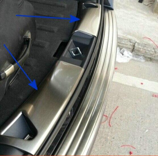 Protezione antigraffio per paraurti posteriore in acciaio inox 2008