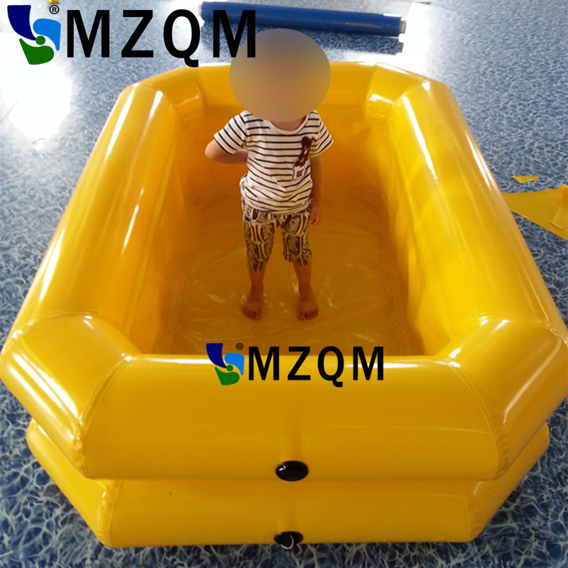 MZQM Outdoor Children Inflatable Pool Bathtub Swimming Pool Children ...