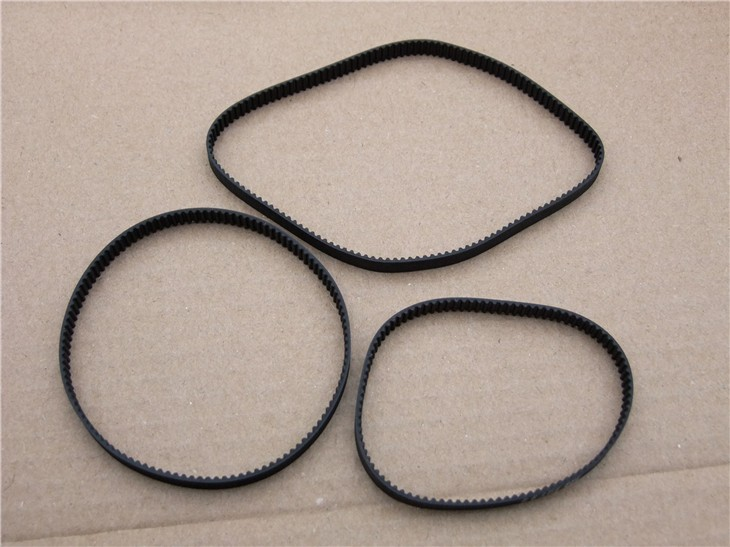 Fine Quality Black Rubber 2GT-6 232mm Perimeter Timing Belt 6mm Width Closed Loop Synchronous Belt Transmission Accessories 10