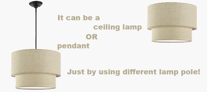 ceiling lamp or pendant