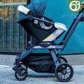 Orbit bebé G3 original seguro carseat para 0-24 meses bebé recién nacido, 360 grados de rotación carseat