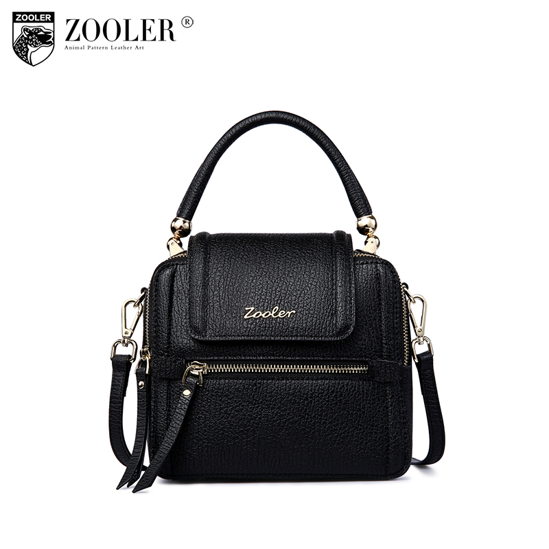 HOT! NEW leather shoulder bag ZOOLER genuine leather bag top handle cowhide bags famous brand handbag 2018 bolsa feminina #5201 купить