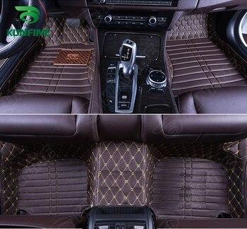 Top Quality 3D car floor mat  for HYUNDAI IX45  foot mat car foot pad 4 colors Left hand driver drop shipping