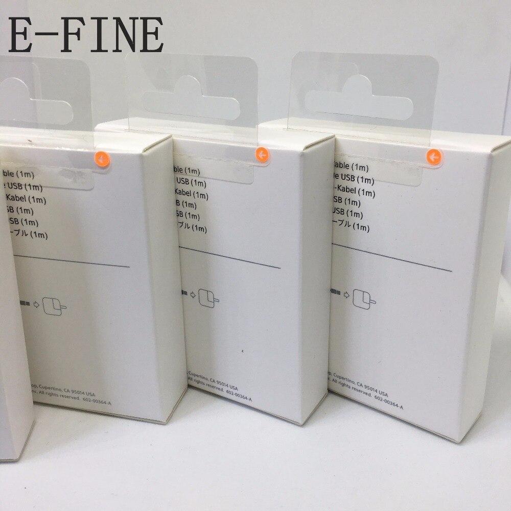 imágenes para 10 unids/3.0mm AAAA con tejido de malla USB Sync Cable Cargador de Datos Para Aire ipad 7 iPhone 6 s 6 plus 5S Para IOS10 con menor caja