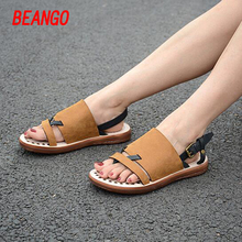 BEANGO 2017 Summer New Arrival Stylish11 Women Sandals Fashion Women Shoes High Quality Casual Thong Woman Flat Sandals