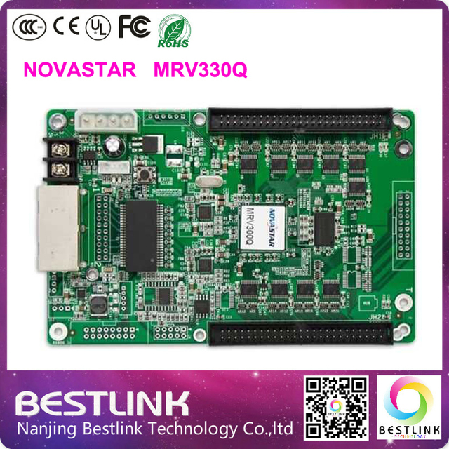 Novastar MRV330Q receiving Card rgb video led control card led display  screen for p4 p5 p6 p8 p10 p12 p16 outdoor led video wall-in LED Displays  from