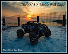 (1:5) TRAXXAS X-MAXX shell version roll cage  (Used with the Original car shell and front bumper bracket)