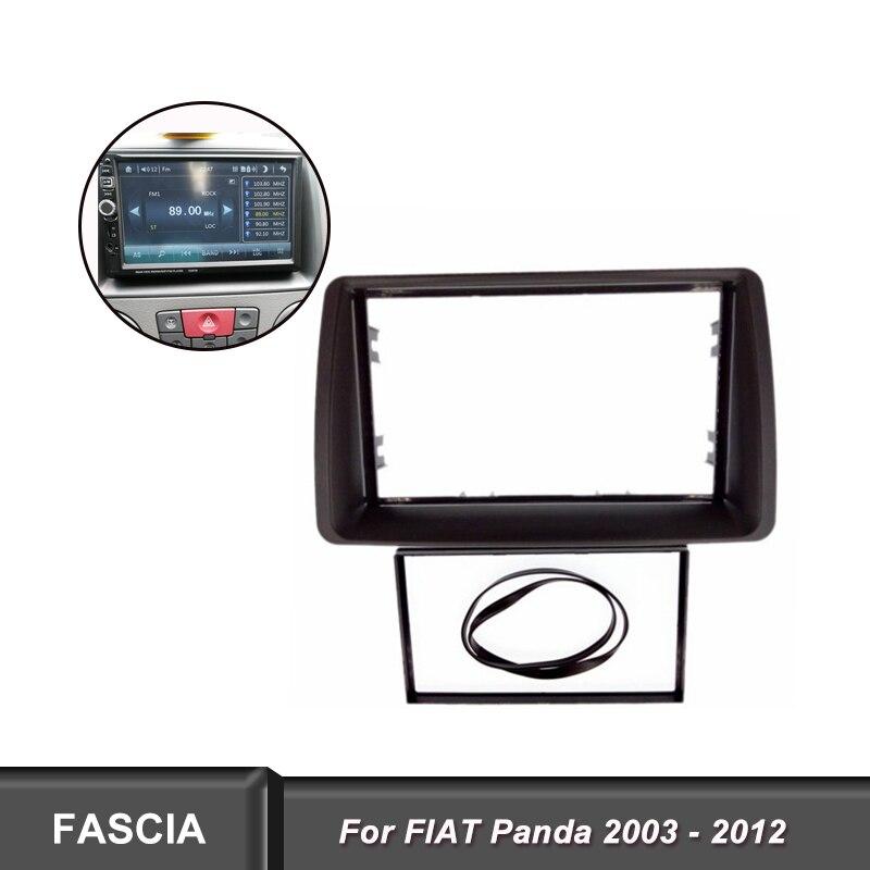 Fiat Ducato stereo radio Facia Fascia adapter panel plate trim CD surround