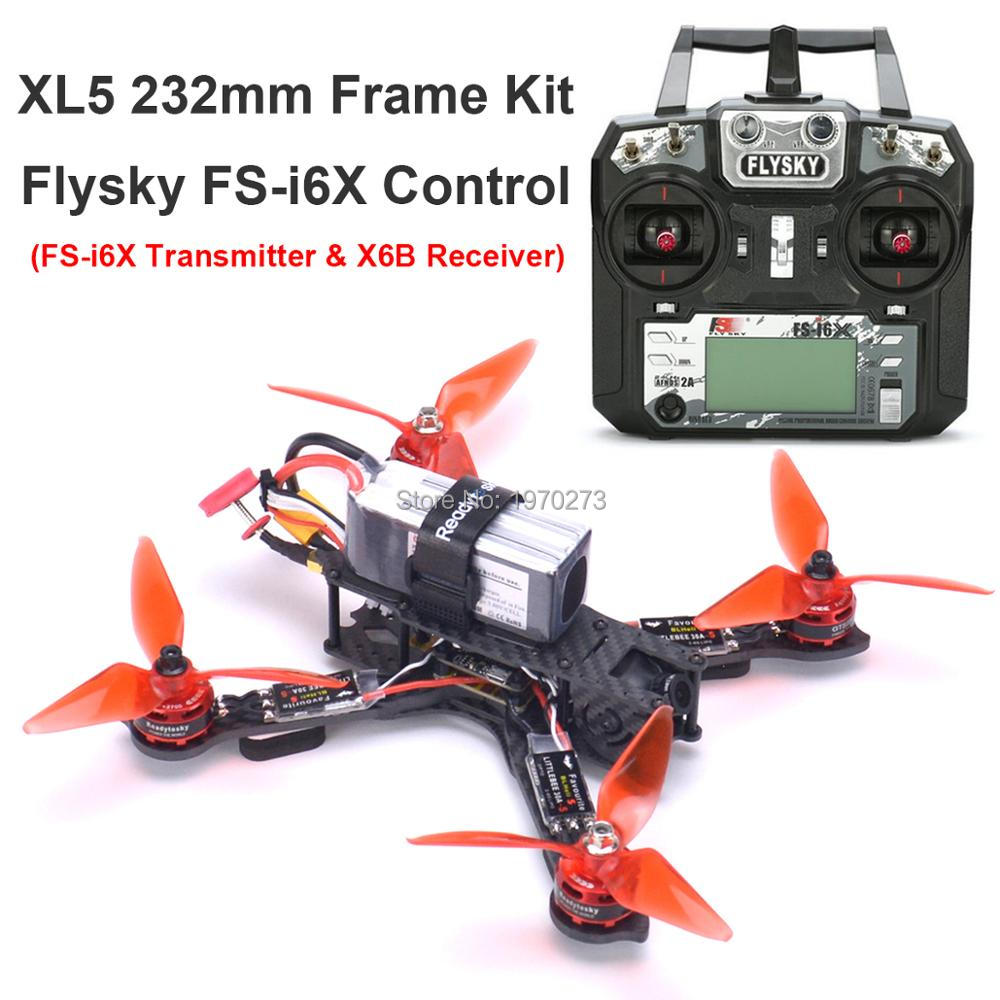 3K Full Carbon Fiber True X XL5 V2 232mm Quadcopter Kit GTS2305 2700KV Motor Littlebee 30A