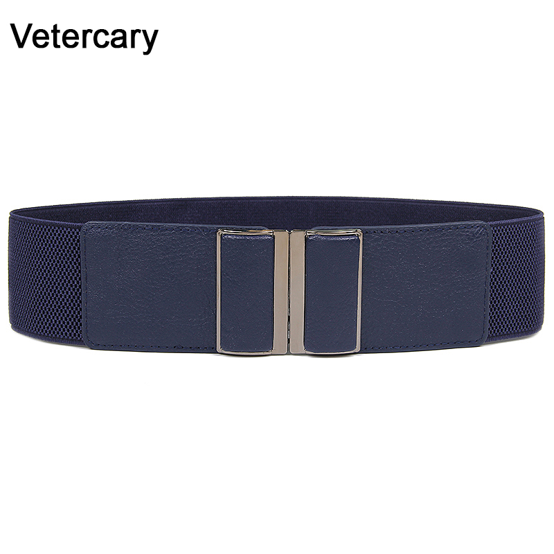 Fashion New Design Cummerbund HOT Vintage Wide Belts For Women Jeans Cummerbunds Elastic Party Costume Belts Women's Black Gift