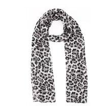 ФОТО ME Women Spring Scarf Coffee Leopard Scarves Printed Thin Wild Shawl 2018 Ladies Travel Sunscreen Head Scarfves