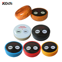 15pcs Best Price Table Service Call Button Wireless Calling Bell Waiter Push Button Guest Beeper for Fast Food Restaurant K-D2
