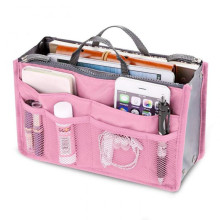 ФОТО Colorful  Womens  Bag in Bags Cosmetic Storage Organizer Makeup Casual Travel Handbag