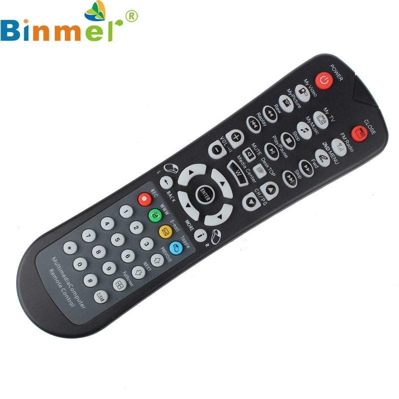 Top Quality USB Wireless Media Desktop PC Remote Control Controller For XP Vista 7 JUN 2 ...