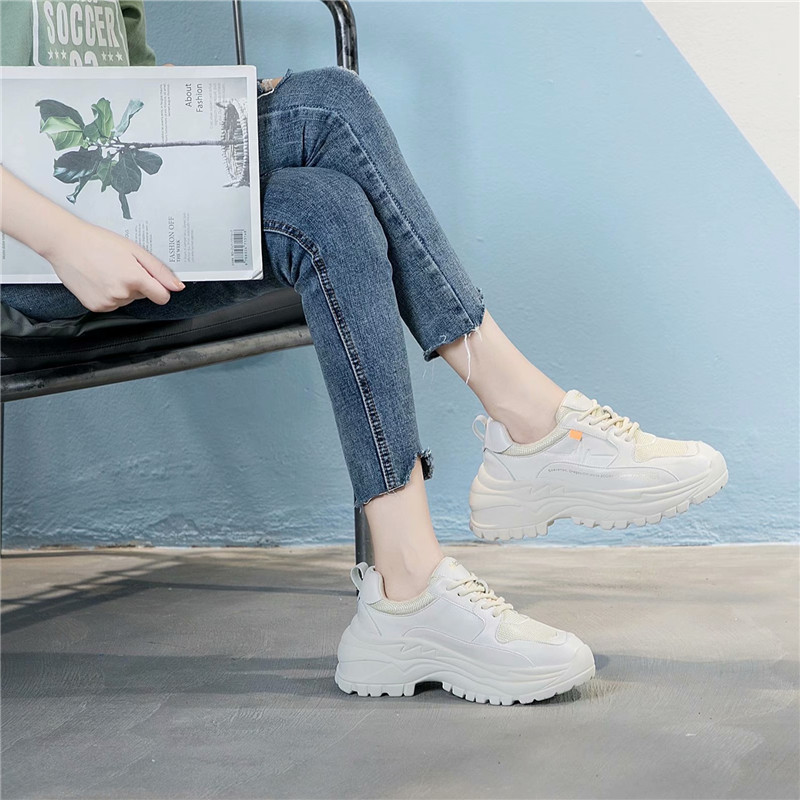 ... Leather chaussure Real Breathable EARTH White Shoe Fashion STAR Female  Quality Women footware Brand Autumn Sneaker 04c785f6aeb2