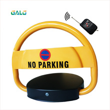лучшая цена Automatic car parking space barrier lock 2 remote controls No Parking Cars parking post bollard