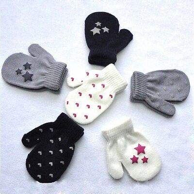 Home & Garden Kids Winter Warm Gloves Baby Toddler Boys Girls Soft Solid Knitting Mittens Uk New Baby Boy Girl Cute Gloves Knit Halter Gloves