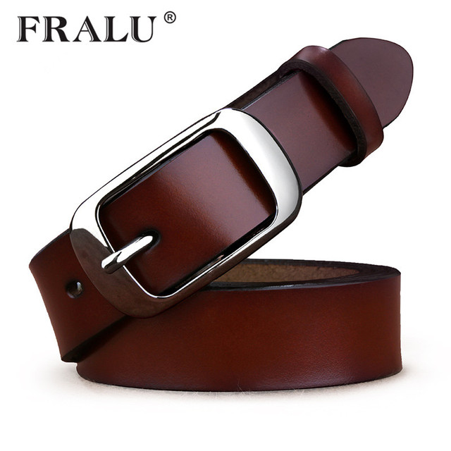 FEALU 2018 Hot ladies leather belt tide leather cowhide female leather  Korean version of the belt decorated fashion wild bae8e0c6af