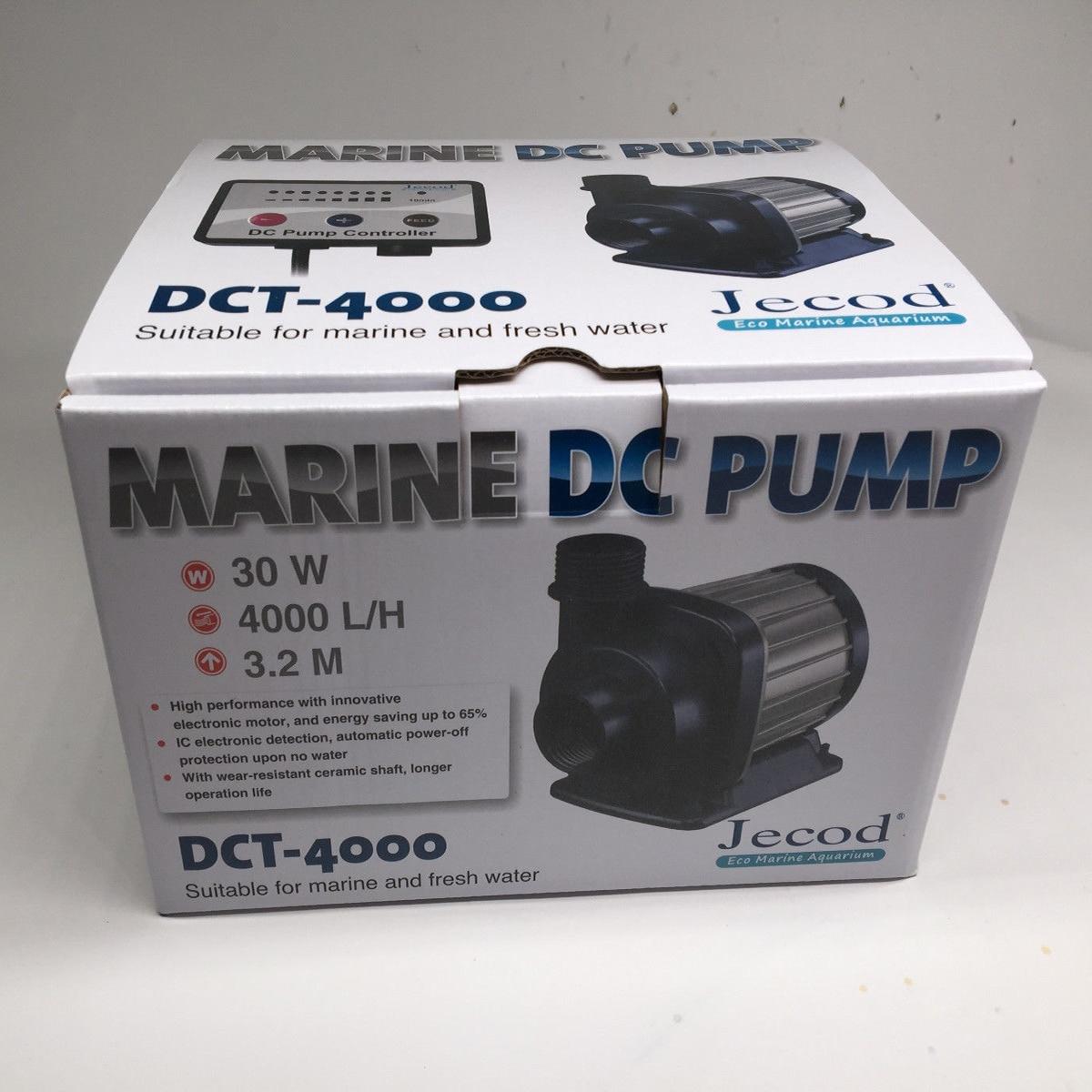 Jecod/Jebao DCT-4000 débit Variable DC Aquarium réservoir de retour pompe avec contrôleur récif marin Submersible pompe de puisard 4000L/h