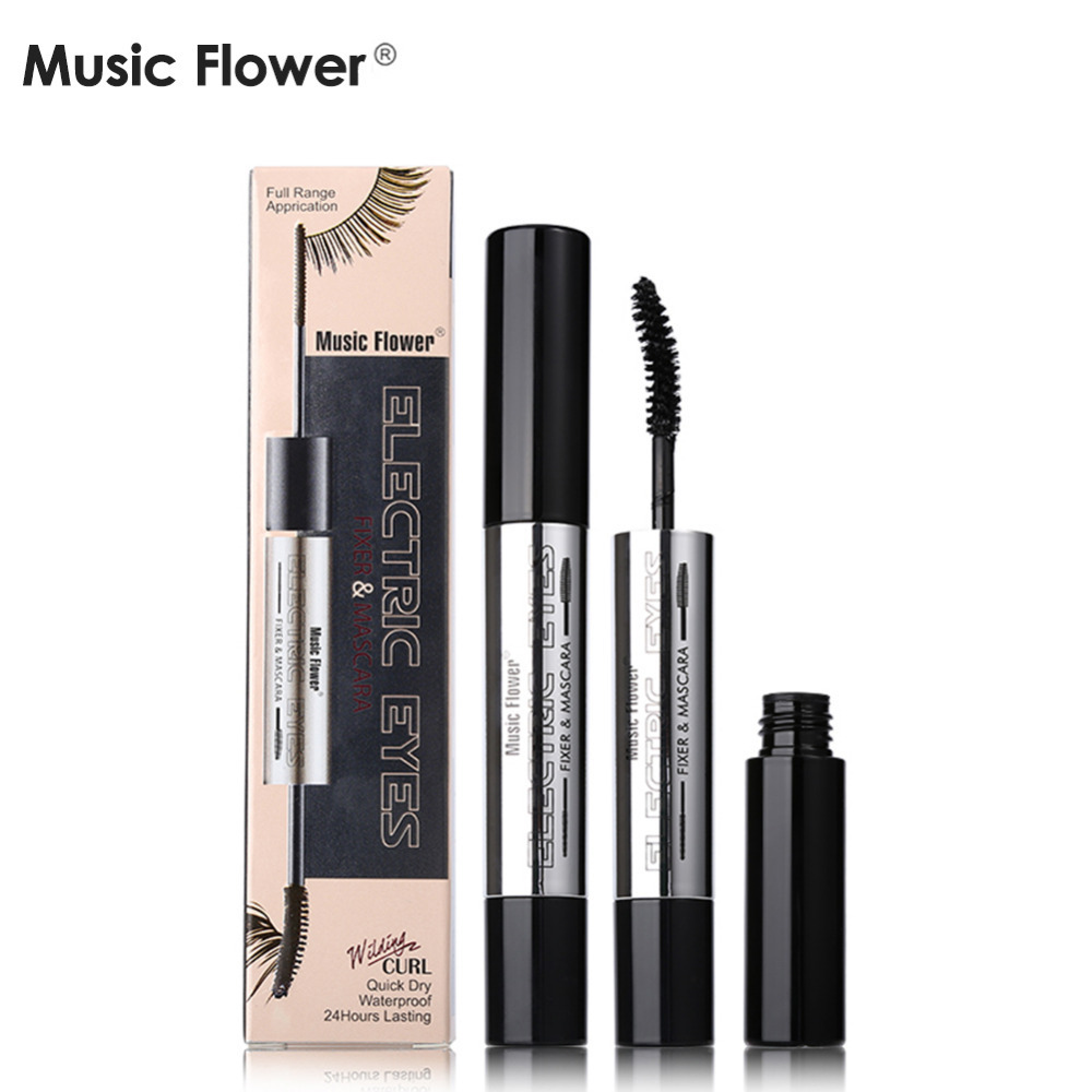 Music flower brand double head waterproof eyelash extension makeup music flower brand double head waterproof eyelash extension makeup curling thick mascara volume express false eyelashes cosmetic in mascara from beauty izmirmasajfo