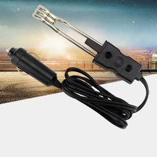 Portable 12V Electric Car Boiled Immersion Water Heater Traveling Camping Picnic Tea Coffee Water Auto Electric Heater 1pcs portable 12v 24v general auto car water heater durable car immersion water heater car accessories