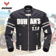 DUHAN Motorcycle Jackets Men Summer Guard Protection Racing Jacket Motocross Breathable Riding Jacket Professional Protector