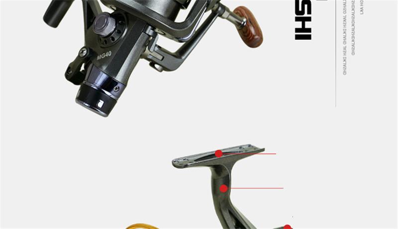 Yumoshi Fishing Rod Reel Combo 8