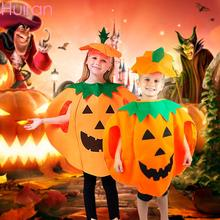 HUIRAN Halloween Cosplay Costume Dress Party Pumpkin Clothes For Kids Childrens Gift Supplies