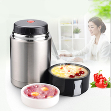 Lunch Box Stainless Steel Braised Beaker Double Wall Smolder Food Porridge Insulated Thermos Vacuum Pot Sou Bucket Stew pot