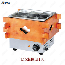 EH10/20/30 Commercial Stainless steel Kanto cooking machine with wooden decoration for kitchen equipment