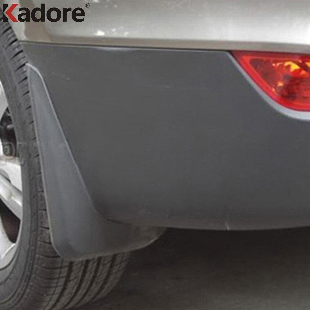 Fit For Hyundai ix35 2010 2011 2012 Car Fenders Splash Guards Mud Flaps Mudguards Protector Trim Exterior Accessories