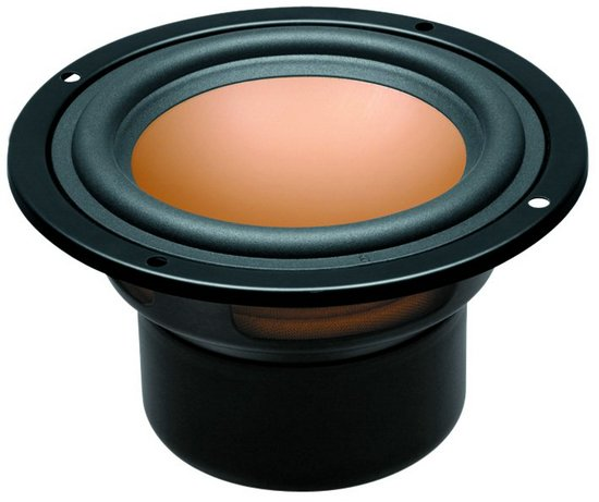 2PCS Original HiVi M4N 4inch Full Range Speaker Driver Unit Magnesium Aluminum Cone Shielded 8ohm/15W D116mm
