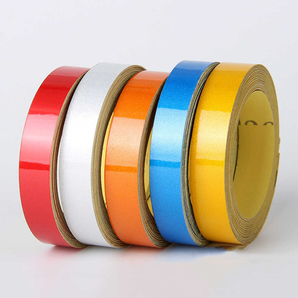 NEW Car-styling Night Magic Reflective Tape 1cm*5m Automotive Body Motorcycle Decoration Car Sticker