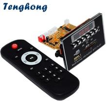 Tenghong DTS Lossless Bluetooth MP3 Decoder Board DC5V Audio Decoding Module FM Radio WAV WMA FLAC APE MTV HD Video Player DIY