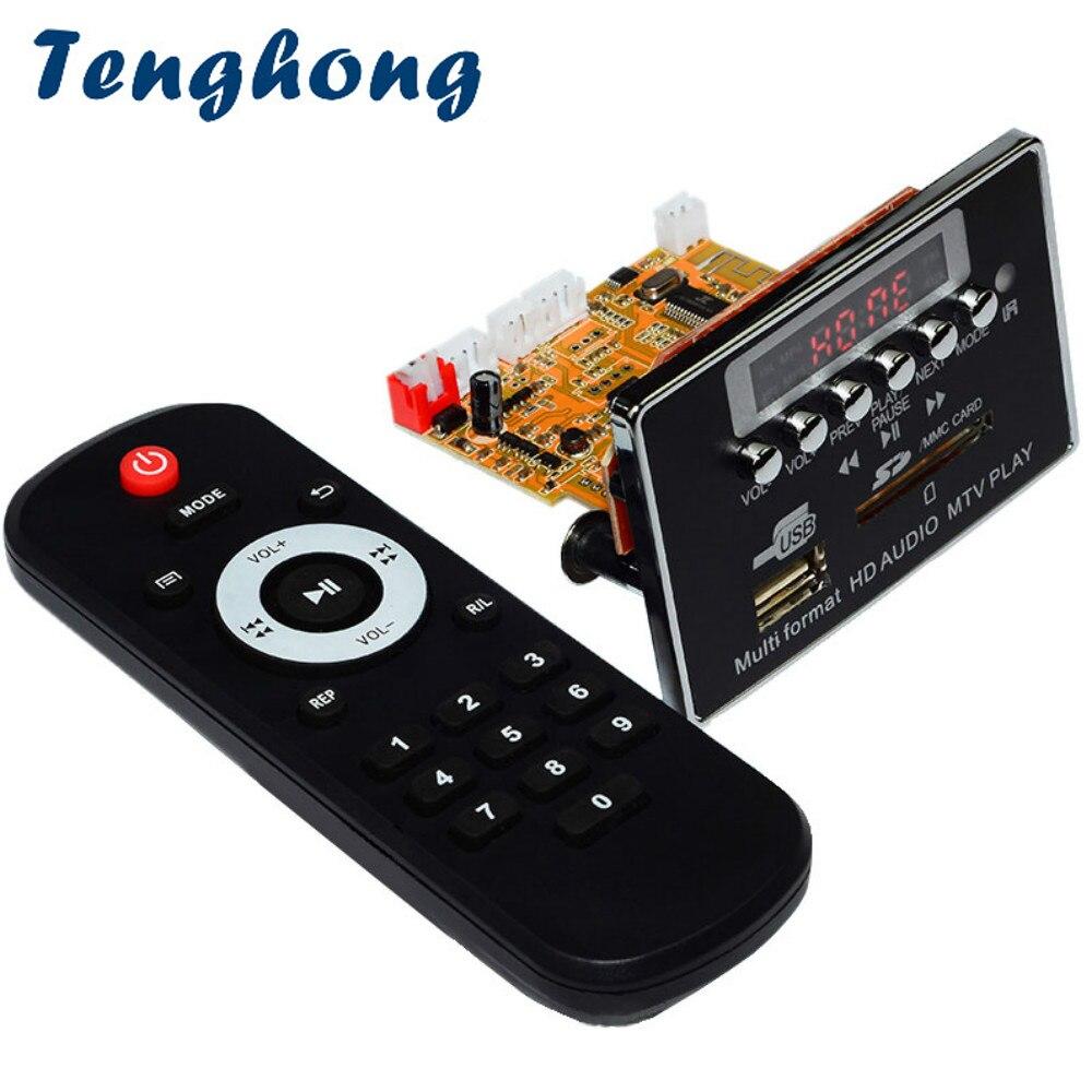 Clever Tenghong Dts Verlustfreie Bluetooth Mp3 Decoder Board Dc5v Audio Decodierung Modul Fm Radio Wav Wma Flac Ape Mtv Hd Video Player Diy Eine GroßE Auswahl An Waren Mp3-player Tragbares Audio & Video