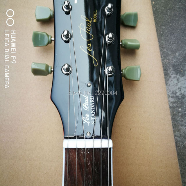 1959 custom left-hand LP electric guitar, great guitar, guitar's original image, free shipping 4